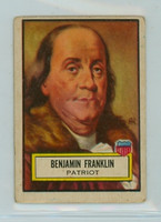 1952 Look N See 21 Benjamin Franklin Fair to Poor