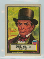1952 Look N See 22 Daniel Webster Very Good to Excellent