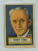 1952 Look N See 31 Henry Ford Single Print Fair to Poor