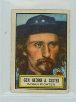 1952 Look N See 37 Gen. George A. Custer Good to Very Good