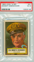 1952 Look N See 41 Dwight Eisenhower PSA 5 Excellent