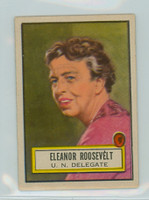 1952 Look N See 43 Eleanor Roosevelt Single Print Excellent