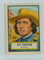 1952 Look N See 53 Kit Carson Single Print Excellent