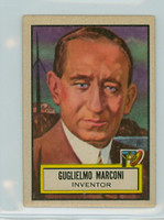 1952 Look N See 69 Guglielmo Marconi Very Good to Excellent
