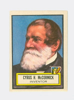 1952 Look N See 72 Cyrus McCormick Excellent to Mint