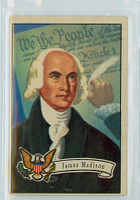1952 U.S. Presidents 6 James Madison Excellent