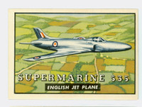 1952 Wings 113 Supermarine 535 Near-Mint