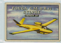 1952 Wings 186 Fouga CM 8-R.13 Sylphe Very Good