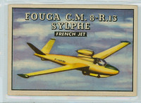 1952 Wings 186 Fouga CM 8-R.13 Sylphe Very Good to Excellent