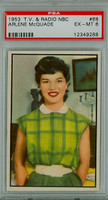 1953 TV-Radio 68 Arlene McQuade PSA 6 Excellent to Mint