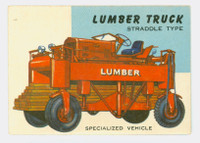 1954 World On Wheels 8 Lumber Truck Excellent