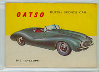 1954 World On Wheels 14 Gatso Cyclops Very Good to Excellent
