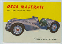 1954 World On Wheels 15 Osca Maserati Excellent to Mint