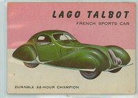 1954 World On Wheels 22 Lago Talbot Very Good to Excellent