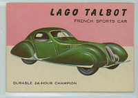 1954 World On Wheels 22 Lago Talbot Excellent