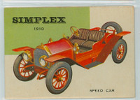 1954 World On Wheels 29 Simplex Speed Car 1910 Excellent