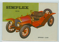 1954 World On Wheels 29 Simplex Speed Car 1910 Near-Mint