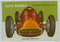 1954 World On Wheels 30 Alfa Romeo Racing Car Near-Mint