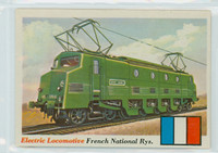 1955 Rails and Sails 7 French National Railways Near-Mint