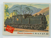 1955 Rails and Sails 8 C.M. St. P / P Railroad Excellent