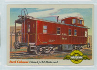 1955 Rails and Sails 9 Clinchfield Railroad Near-Mint