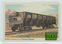 1955 Rails and Sails 10 Ballast Dump Car Near-Mint Plus