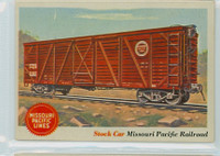 1955 Rails and Sails 11 Missouri Pacific Railroad Very Good to Excellent