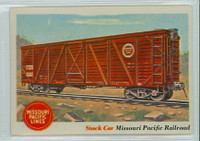 1955 Rails and Sails 11 Missouri Pacific Railroad Excellent to Mint