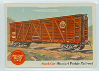 1955 Rails and Sails 11 Missouri Pacific Railroad Near-Mint Plus
