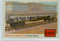 1955 Rails and Sails 15 Chlorine Container Car Excellent to Excellent Plus