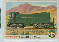 1955 Rails and Sails 26 Nat'l Railways of Mexico Excellent