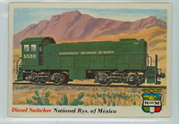 1955 Rails and Sails 26 Nat'l Railways of Mexico Excellent to Mint