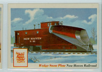 1955 Rails and Sails 31 Wedge Snow Plow Excellent to Excellent Plus