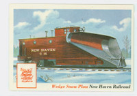 1955 Rails and Sails 31 Wedge Snow Plow Near-Mint