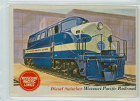 1955 Rails and Sails 36 Missouri Pacific Railroad Very Good to Excellent