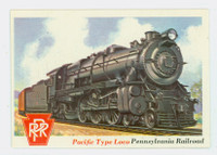 1955 Rails and Sails 38 Pacific Type Locomotive Near-Mint