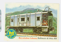 1955 Rails and Sails 48 Bay-window Caboose Near-Mint