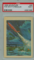 1956 Adventure 25 Navy's Regulus PSA 7 Near Mint