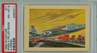 1956 Adventure 71 Air Force Thunderjet PSA 8 Near Mint to Mint