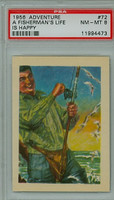 1956 Adventure 72 Fishing PSA 8 Near Mint to Mint
