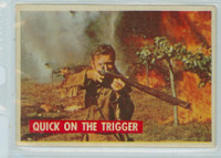 1956 Davy Crockett Green 15 Quick on the Trigger Very Good to Excellent