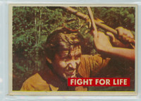 1956 Davy Crockett Green 30 Fight For Life Excellent to Excellent Plus