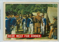 1956 Davy Crockett Orange 5 Bear Meat for Dinner Good to Very Good