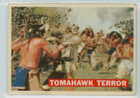 1956 Davy Crockett Orange 17 Tomahawk Terror Very Good