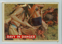 1956 Davy Crockett Orange 22 Davy in Danger Fair to Good
