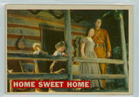 1956 Davy Crockett Orange 24 Home Sweet Home Very Good
