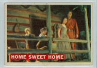 1956 Davy Crockett Orange 24 Home Sweet Home Very Good to Excellent