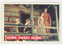 1956 Davy Crockett Orange 24 Home Sweet Home Excellent to Mint