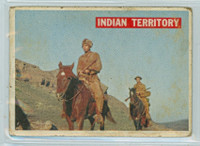 1956 Davy Crockett Orange 25 Indian Territory Fair to Poor