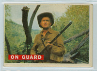 1956 Davy Crockett Orange 26 On Guard Good to Very Good